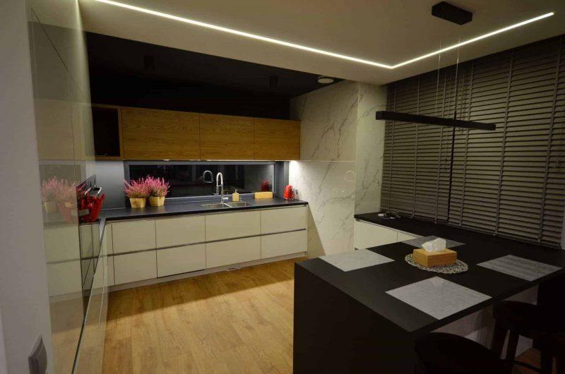 Oświetlenie liniowe w domu jednorodzinnym