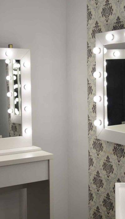 Przenośne stanowisko Beauty Make Up Mirror