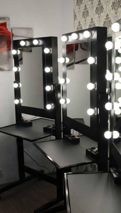 Mobilne stanowisko fryzjerskie Hollywood Dual