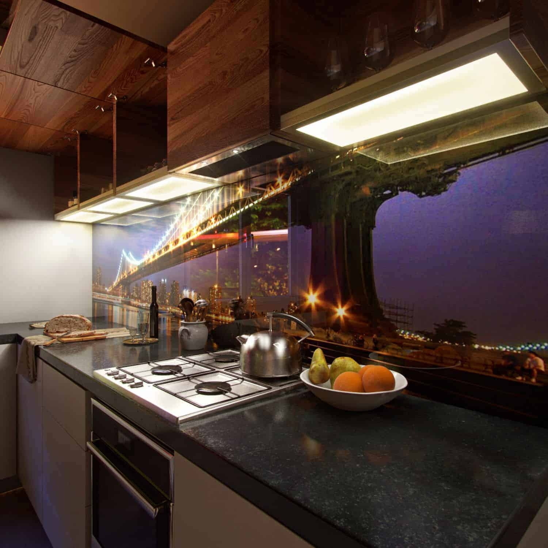 Wieniec kuchenny LED