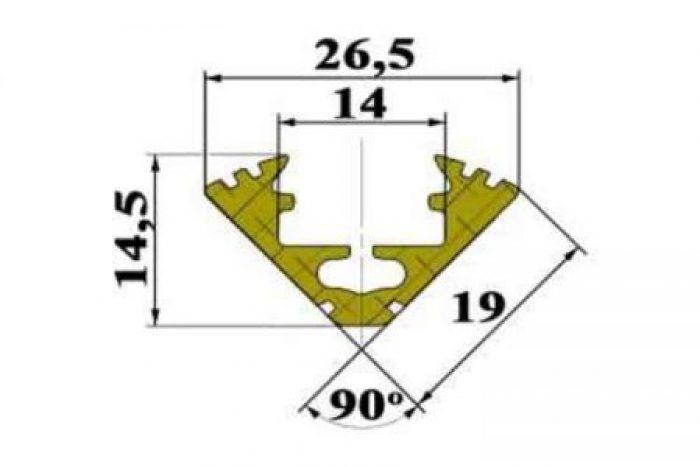 Profil LED SOD-45