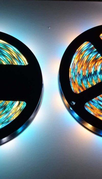 Taśma LED RGB z białym ciepłym/zimnym/ neutralnym