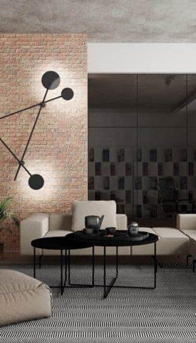 Industrialna lampa naścienna LED